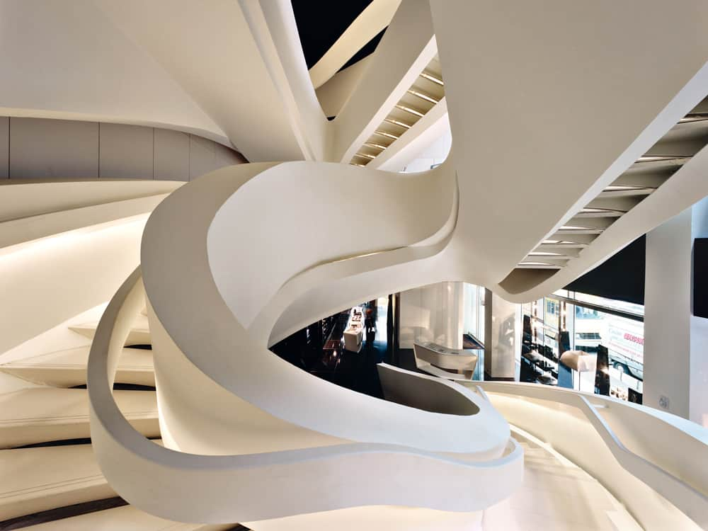 Armani Fifth Ave. staircase