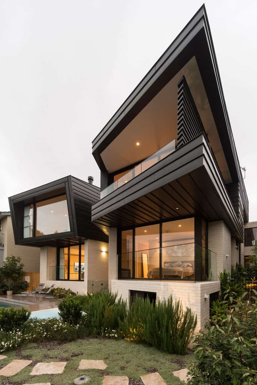 Contemporary balmoral house in green australian paradise for Modern house designs australia