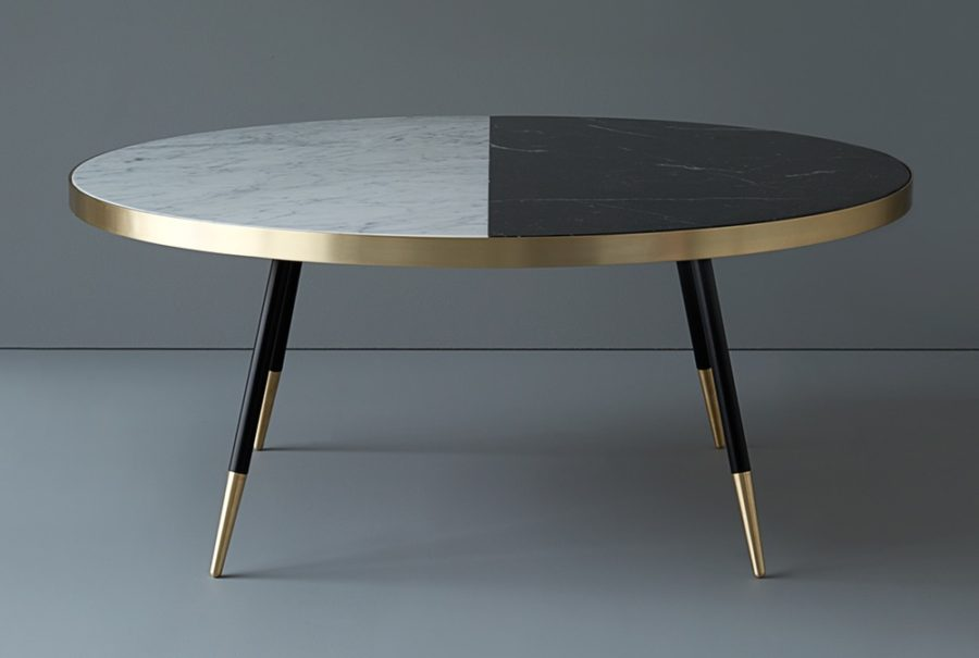 Band Two-Tone Coffee Table by Bethan Gray