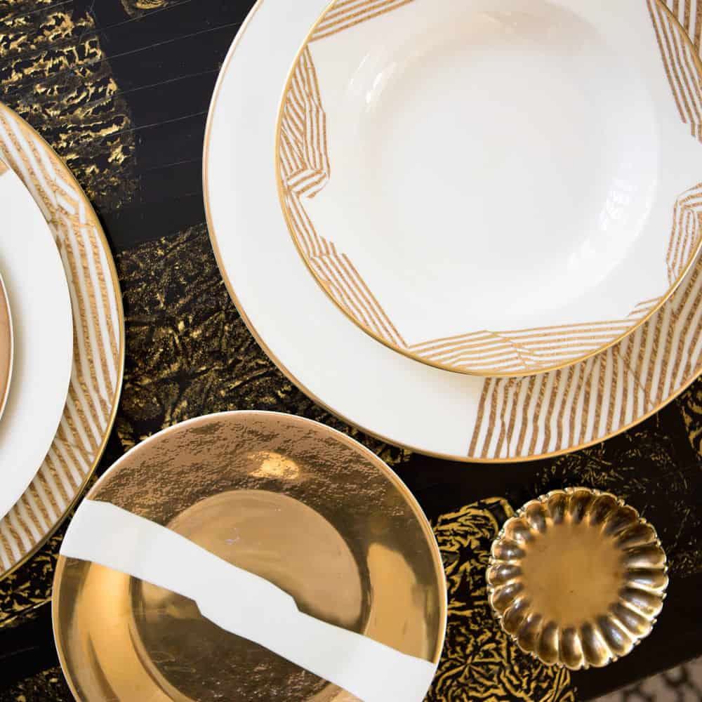 Bedford dinnerware collection