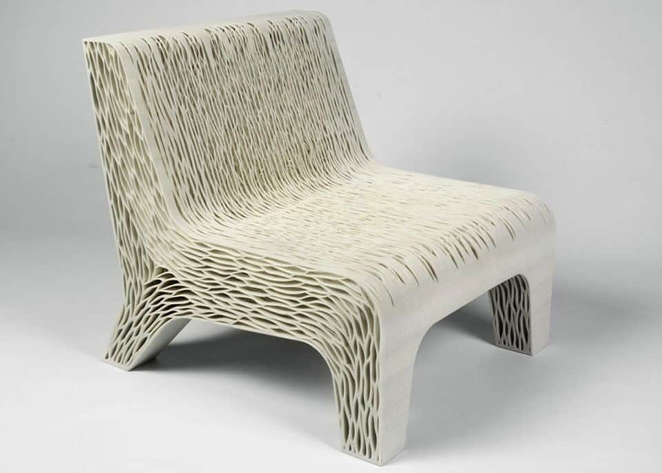 Biomimicry chair by Lilian van Daal