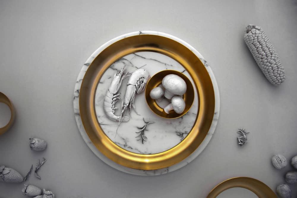 Brass bangle plate