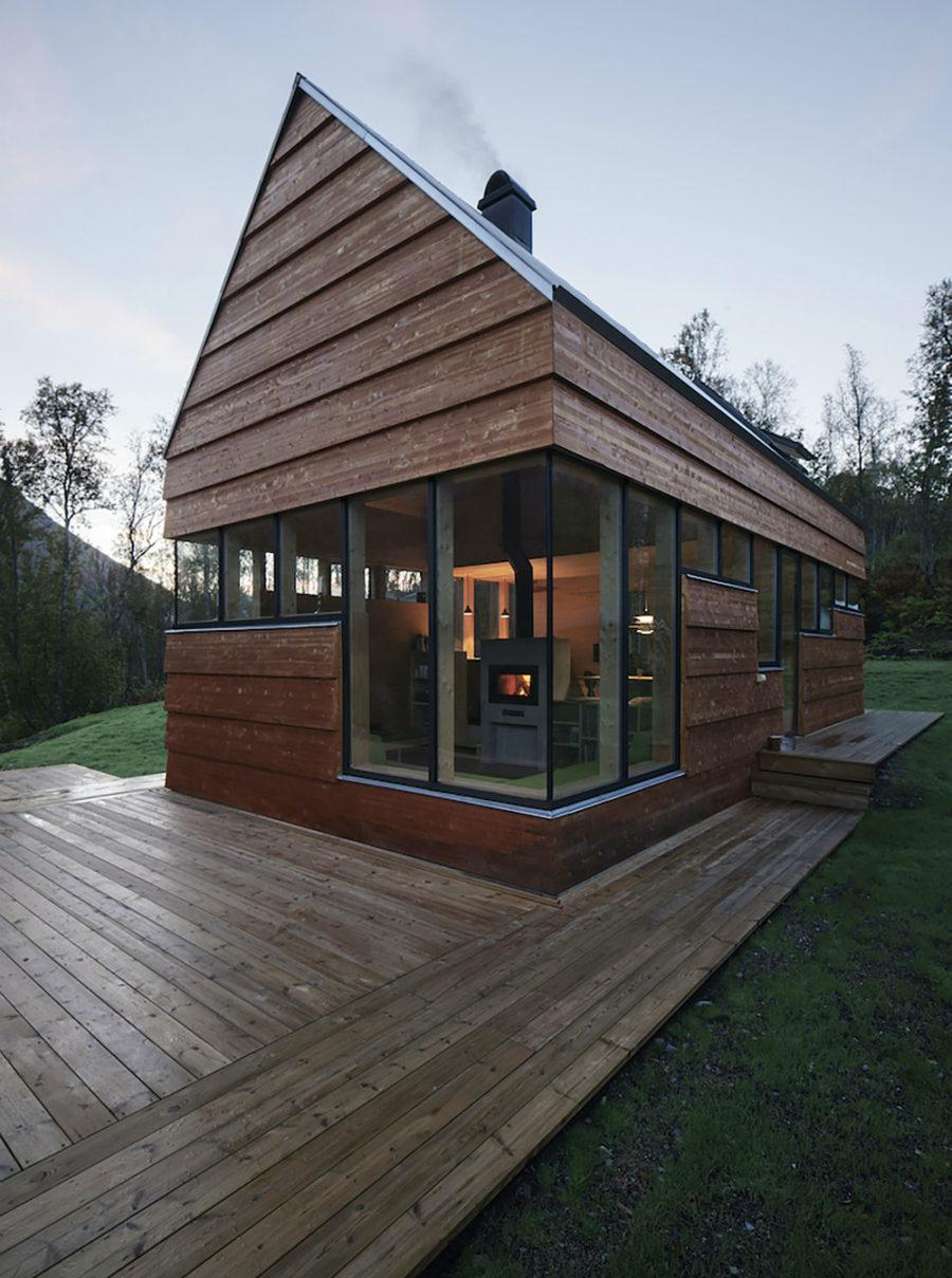 Cabin Laksvatn by Hamran-Johansen Arkitekter