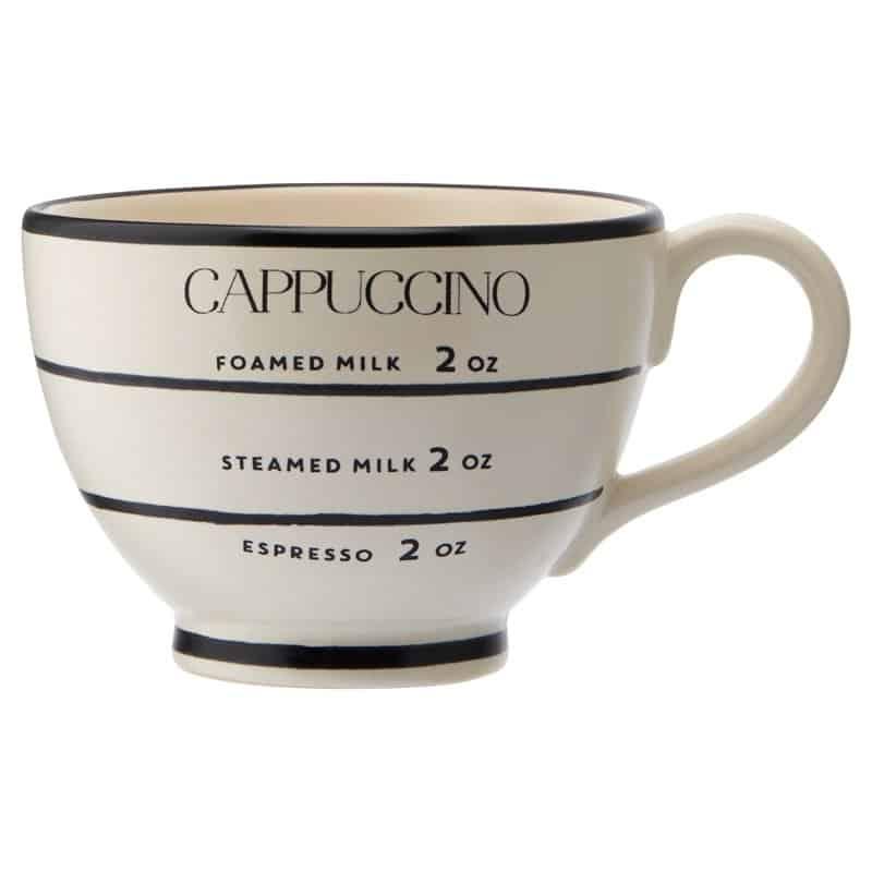 Cappuccino coffee mug