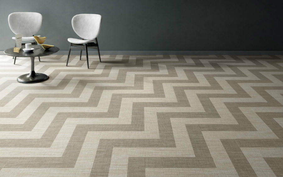 Textile Look Porcelain Tiles From Ceramica Sant Agostino