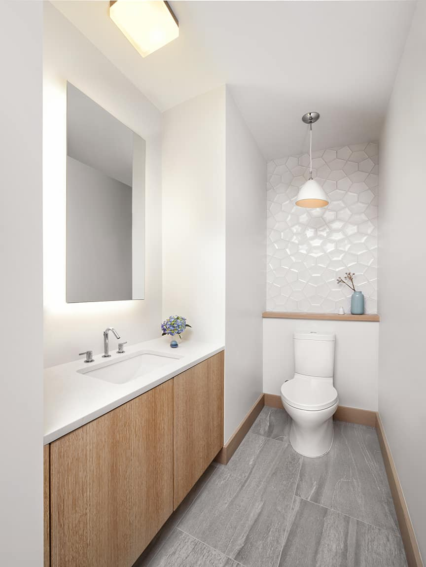 Unique powder rooms to inspire your next remodeling contemporary modern powder room dailygadgetfo Gallery
