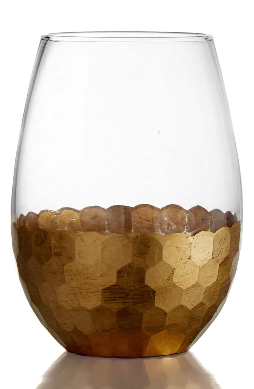 'Daphne' Stemless Wine Glasses