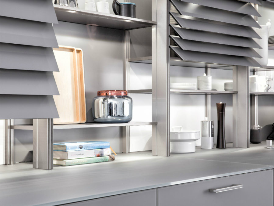... Display Shelves Can Hold Both Tableware And Decor Object Or Books