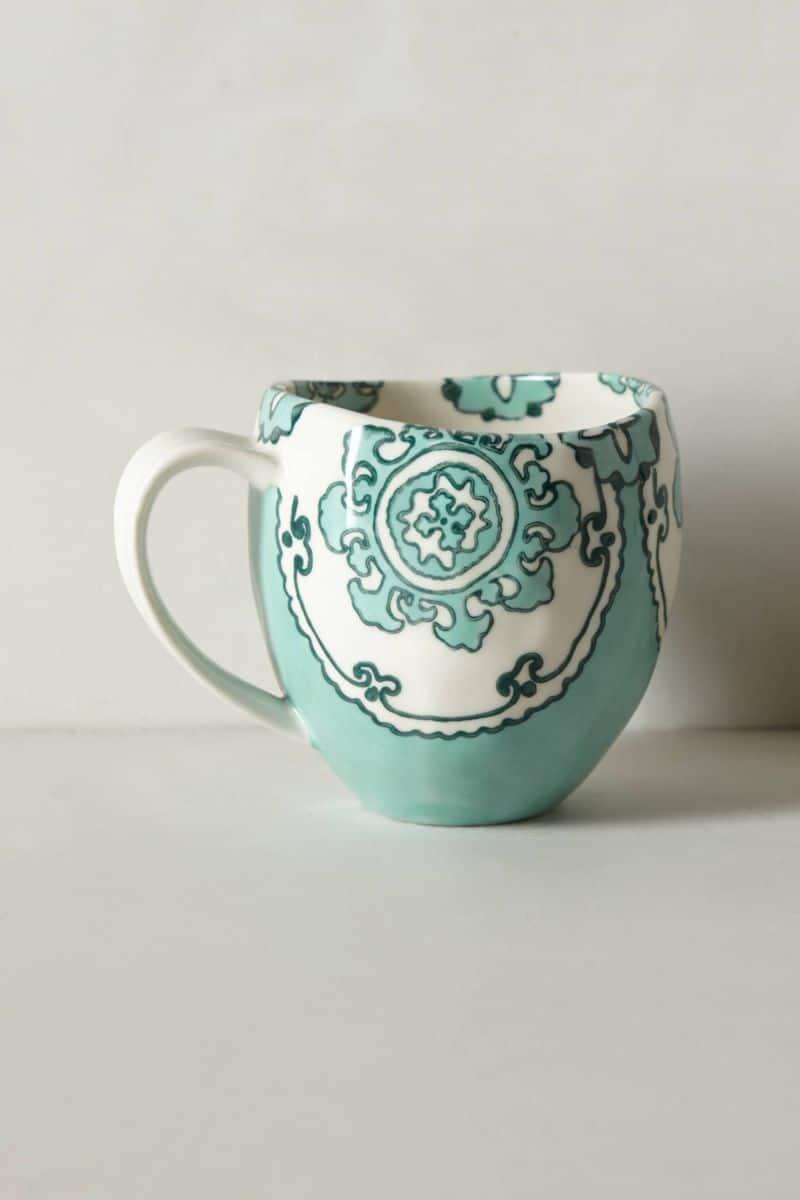 Egg blue coffee mug