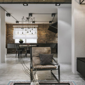 This Contemporary Loft Project Proves That Industrial Look Can Be Luxe