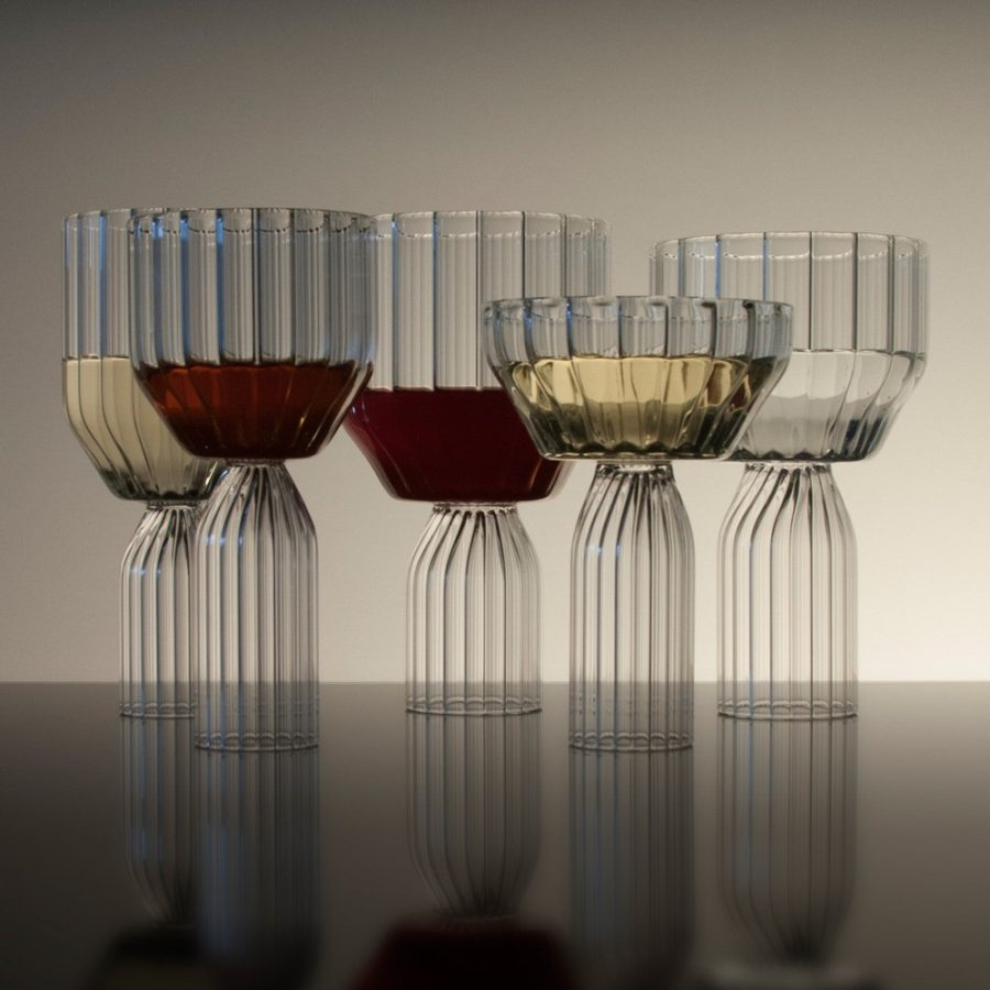 Fferrone Margot Wine Goblets 900x900 25 Modern Glass Designs That are Artful and Unique