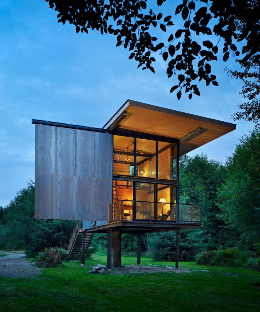 Fishing Cabin by Olson Kundig Architects