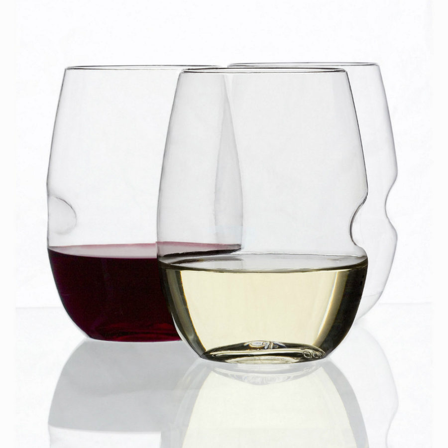 GIovino Stemless Shatterproof Wine Glasses