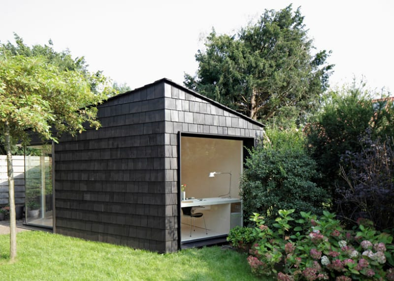 21 modern outdoor home office sheds you wouldn 39 t want to leave for Garden studio uk