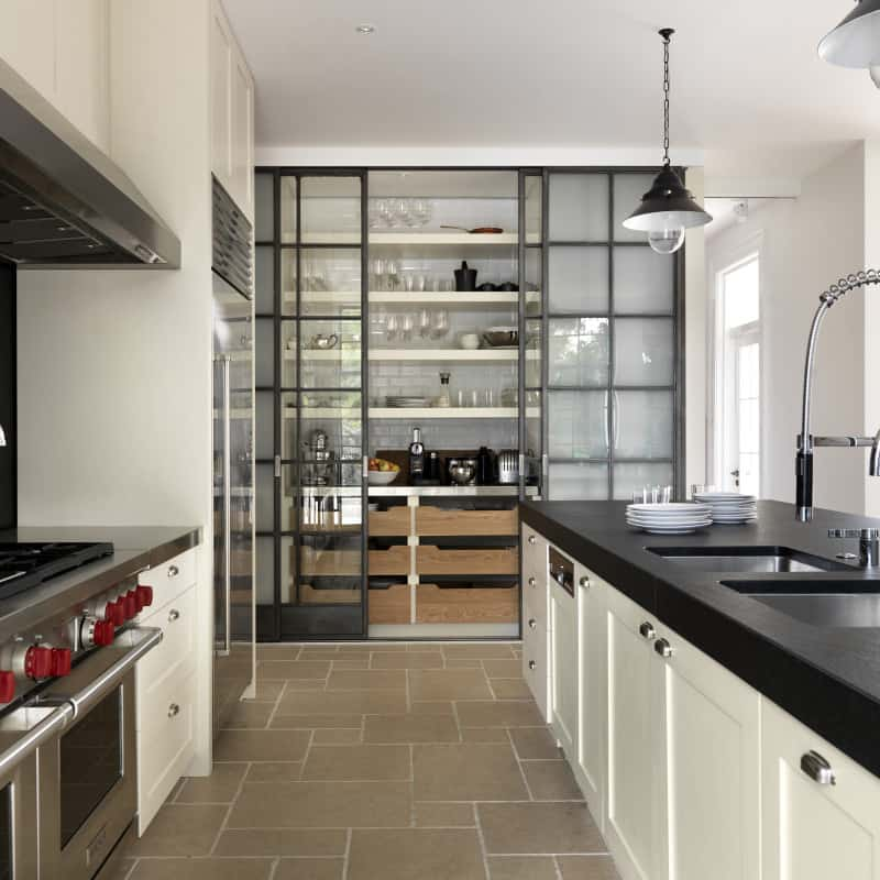 modern kitchen designs with scullery modern pantry ideas that are stylish and practical 704