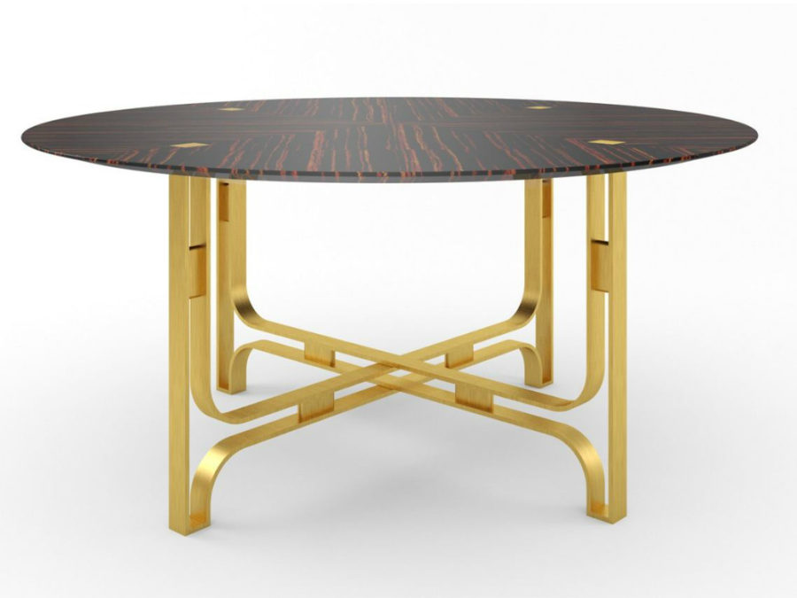 Gregory round table by Marioni 900x675 35 Modern Dining Tables That Will Make Every Dinner Special
