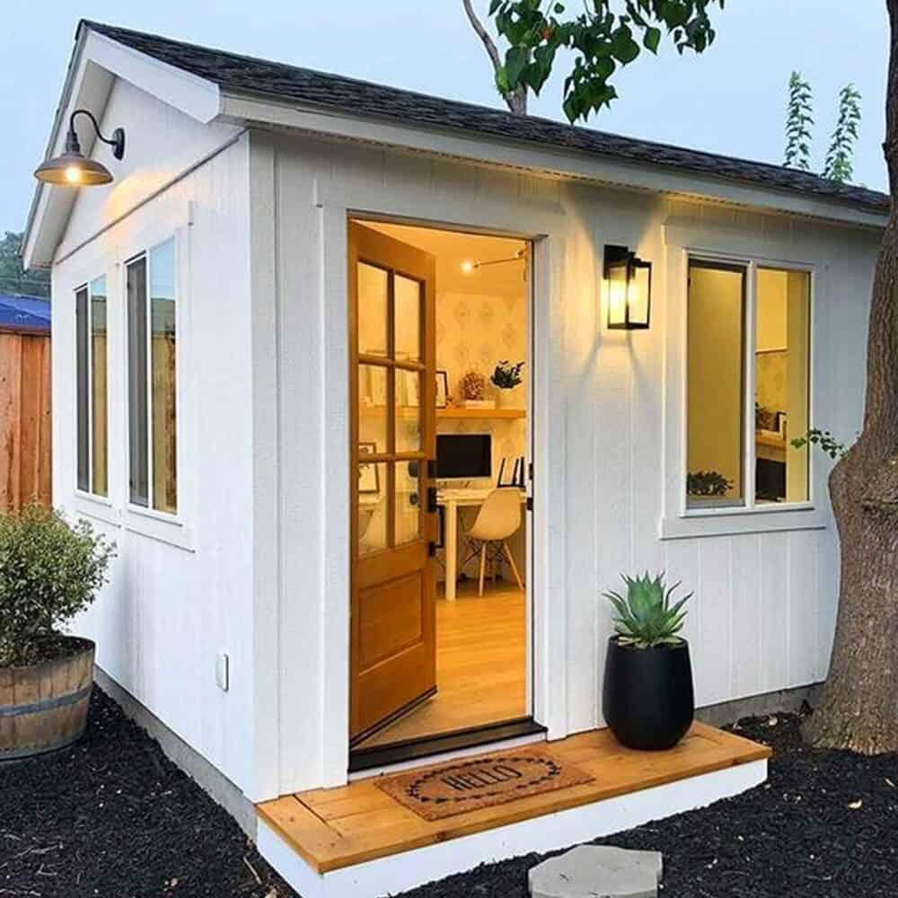 Her Office Shed
