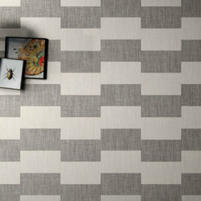 Textile-Look Porcelain Tiles from Ceramica Sant'Agostino