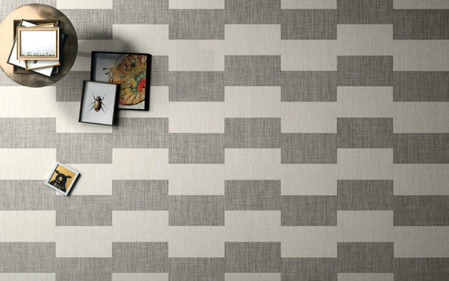 Irregular textile pattern