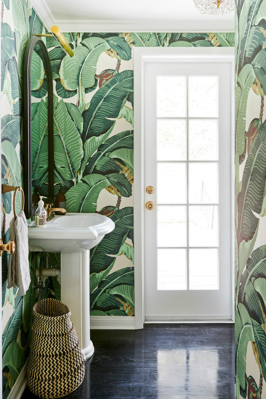 Kathetine Power cool chic powder room