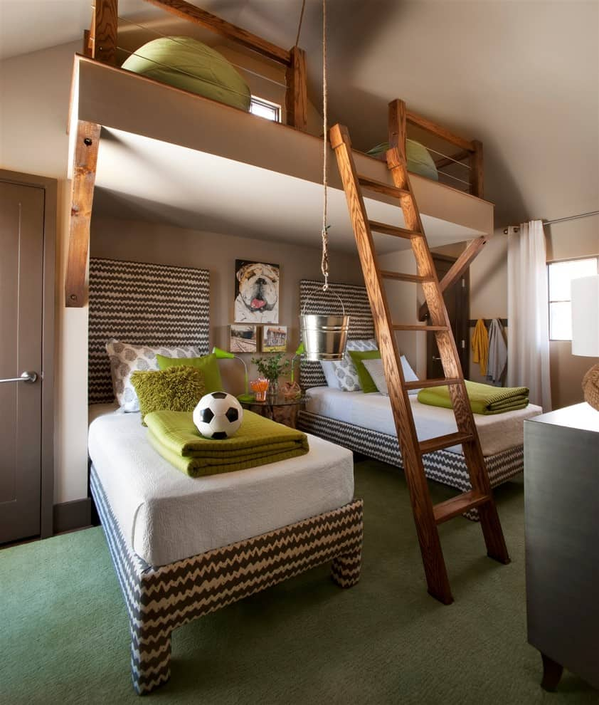 Multipurpose Beds That Maximize Space - Space kids room