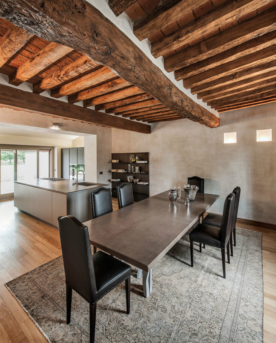 Kitchen with adjoining dining area