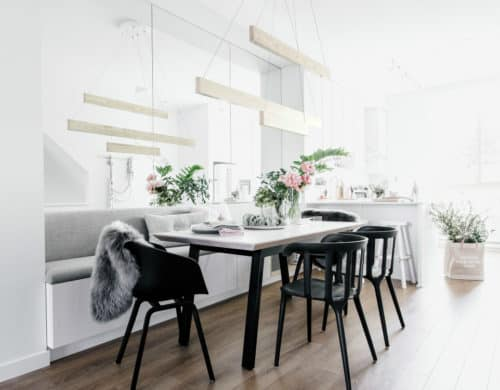 Sleek Wooden Line Light Will Add Style to Your Home
