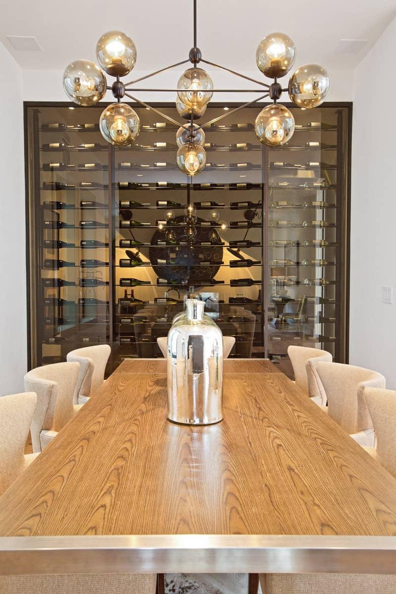Luxury wine glass case