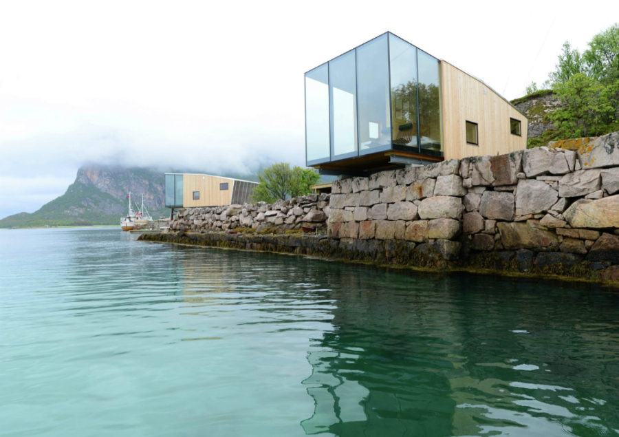 Manshausen Island Resort by Stinessen Arkitektur