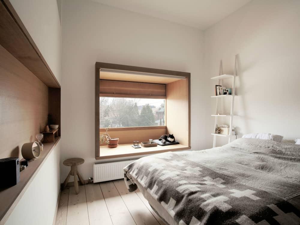 Mjölk House bedroom window seat