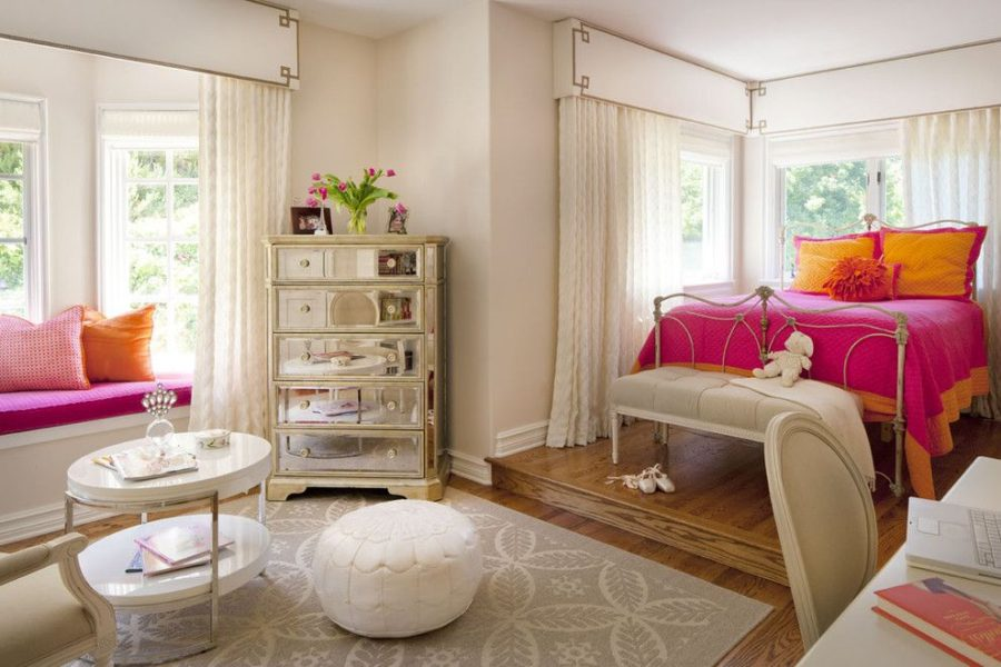 Modern bedroom designs for girls for 90s room design