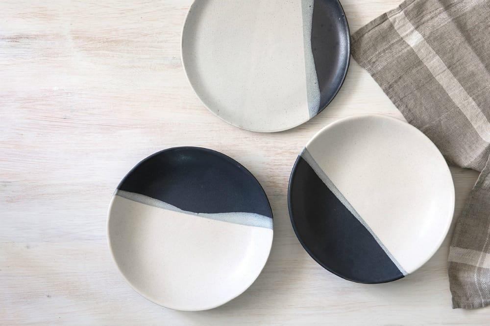 Modern matt Dessert plate