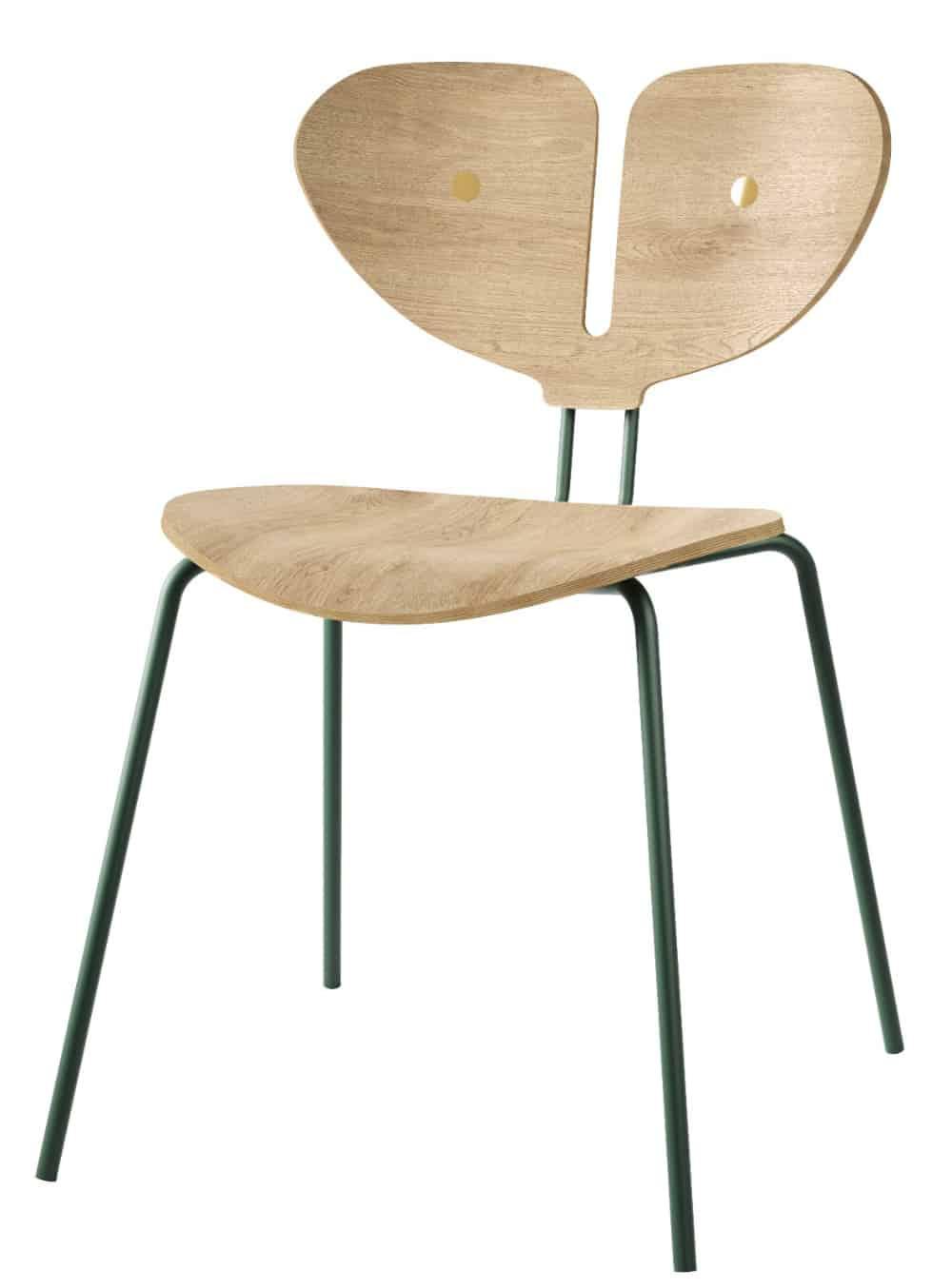 Moth Chair Light Wood