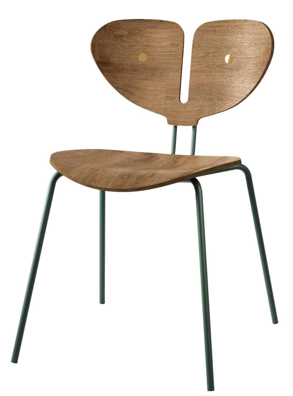 Moth Chair brown wood