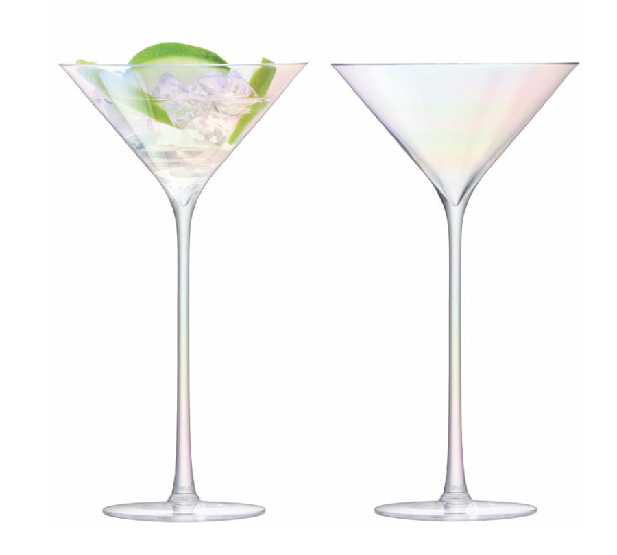 Mother of Pearl cocktail glasses