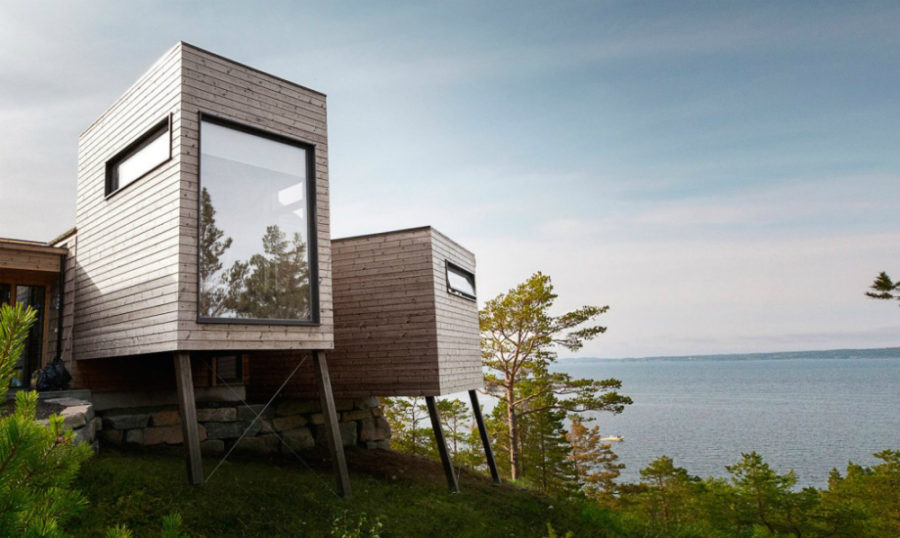 Norway cabins by Rever Drage 900x538 Modern Cabins That Make Gorgeous Holiday Homes