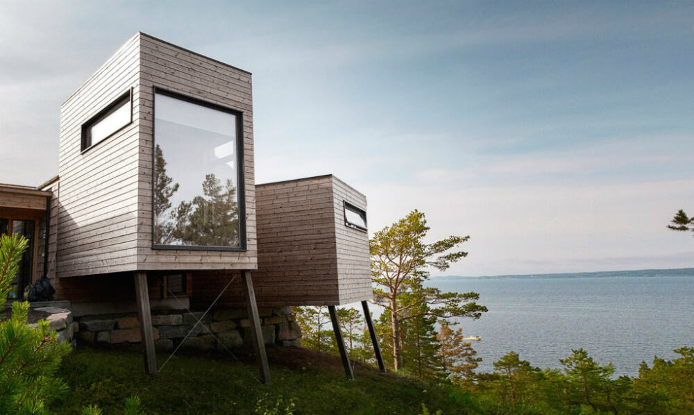 Norway cabins by Rever & Drage
