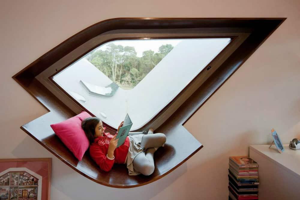 Oddly-shaped window
