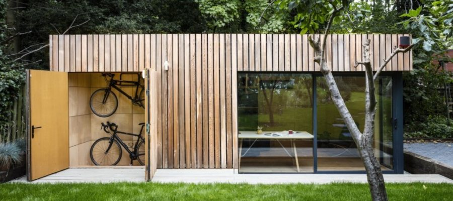 21 modern outdoor home office sheds you wouldn 39 t want to leave for Garden design studio