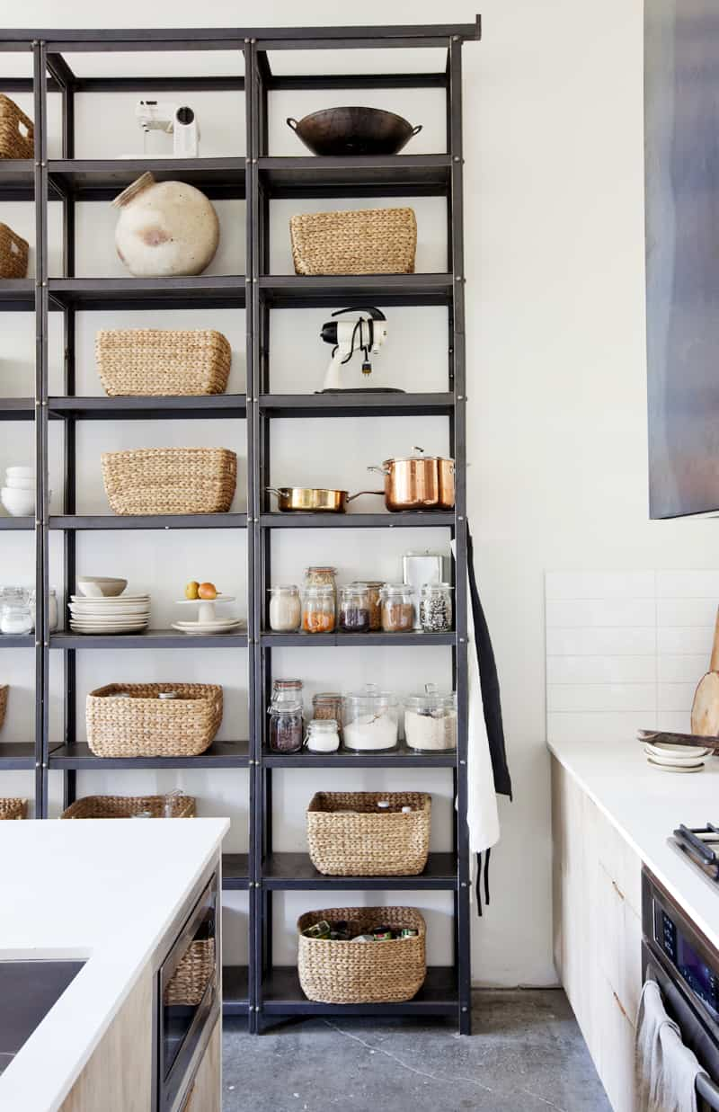 Open pantry Modern Pantry Ideas That are Stylish and Practical