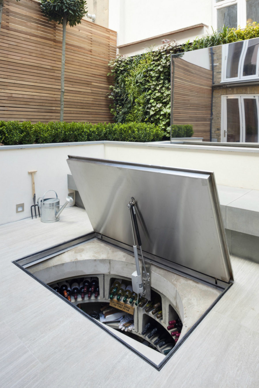 Outdoor Wine Cellar 900x1350 Any Connoisseurs Dream Modern Designs