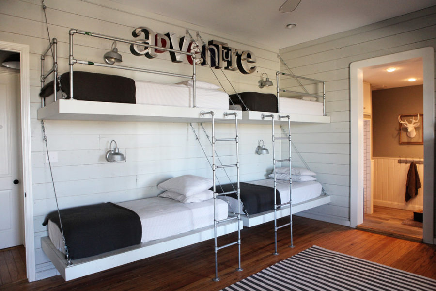 Guest Rooms View In Gallery Pipes Bunk Beds