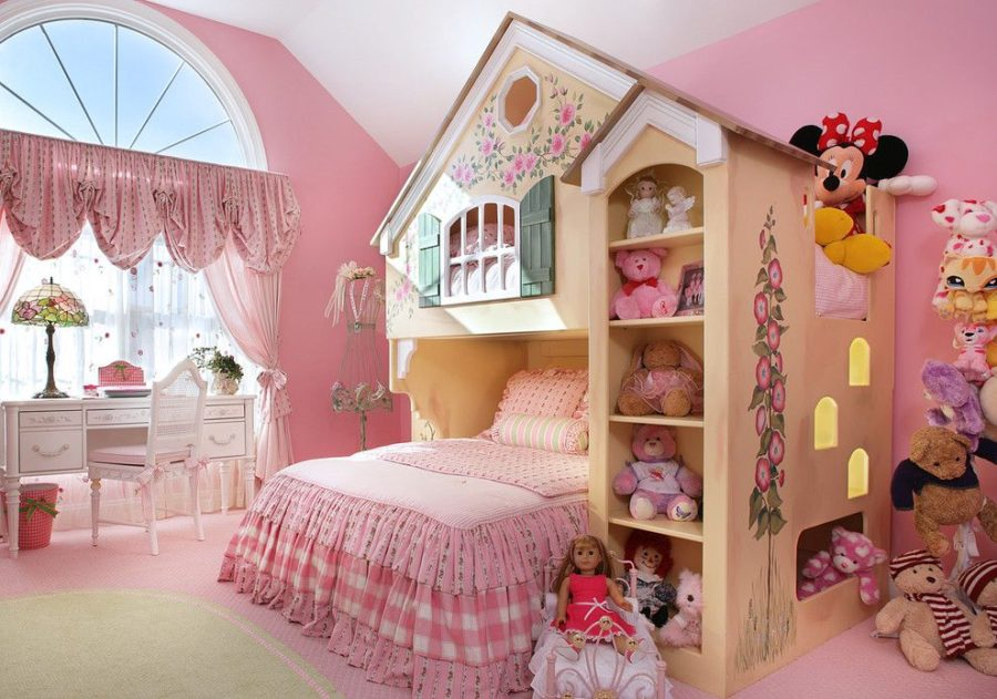 View In Gallery Playhouse Girl Bedroom Decor