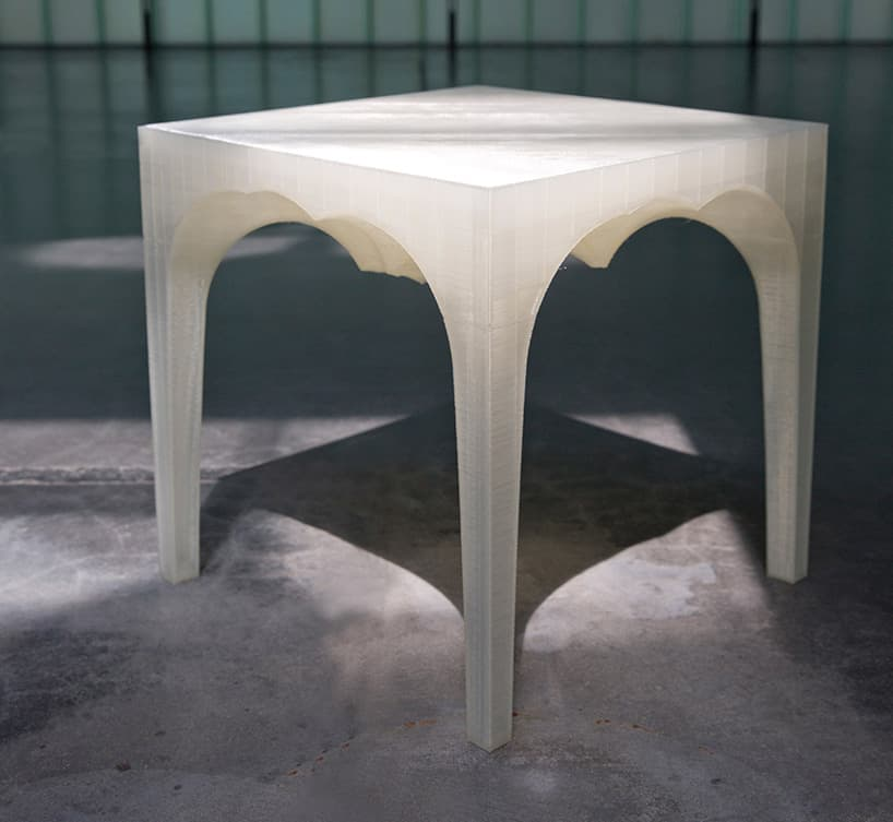 Printed Glacier Table