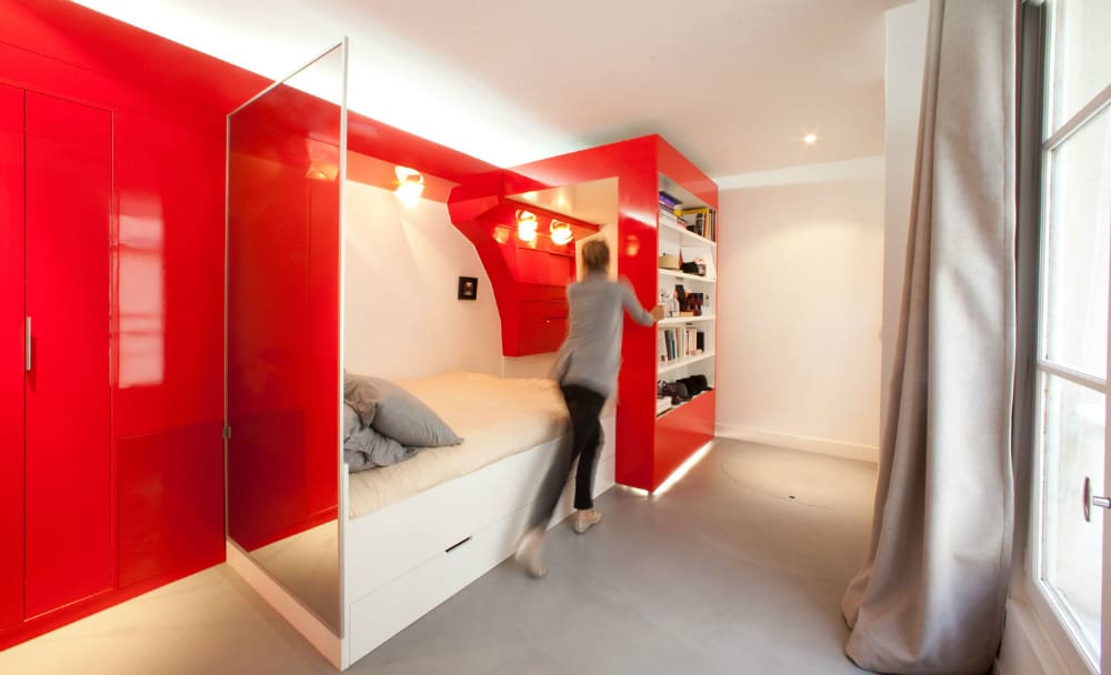 RedNest – 23 square-meter-apartment
