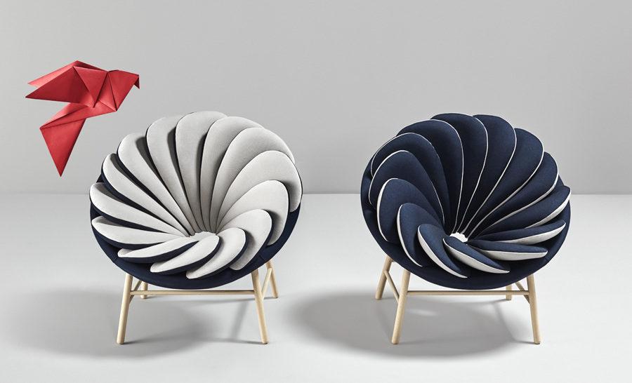 Reversible Quetzal armchair