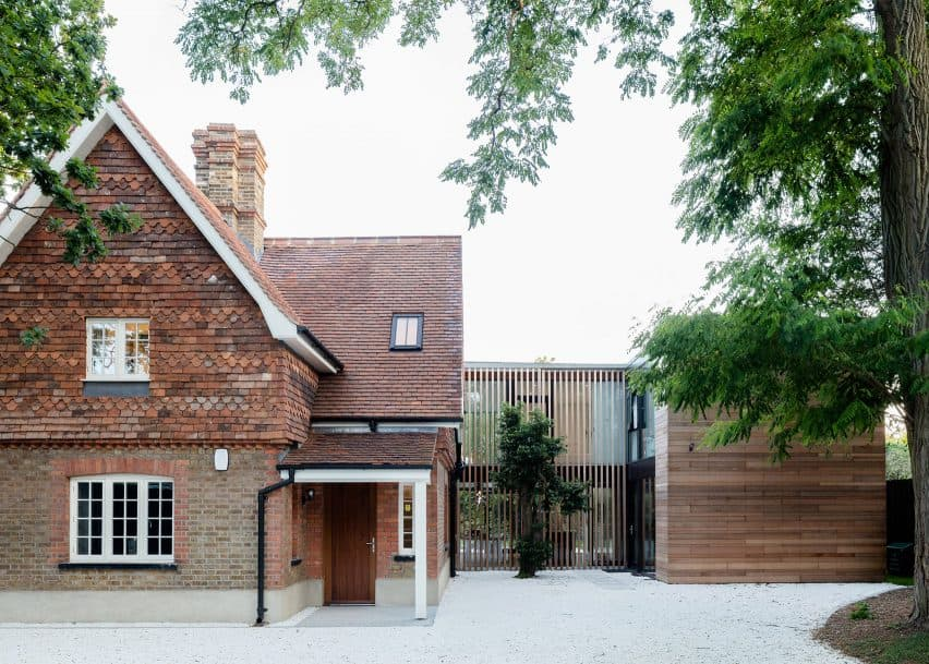 Richmond Park gatehouse extension