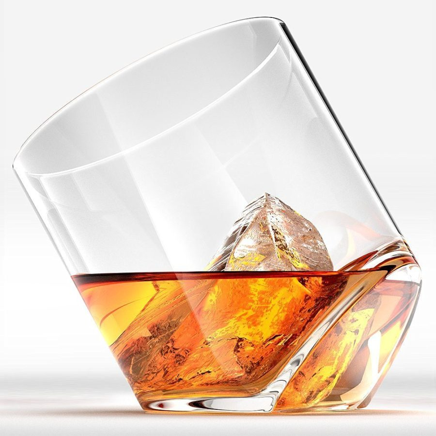 Rocker Whiskey Glass