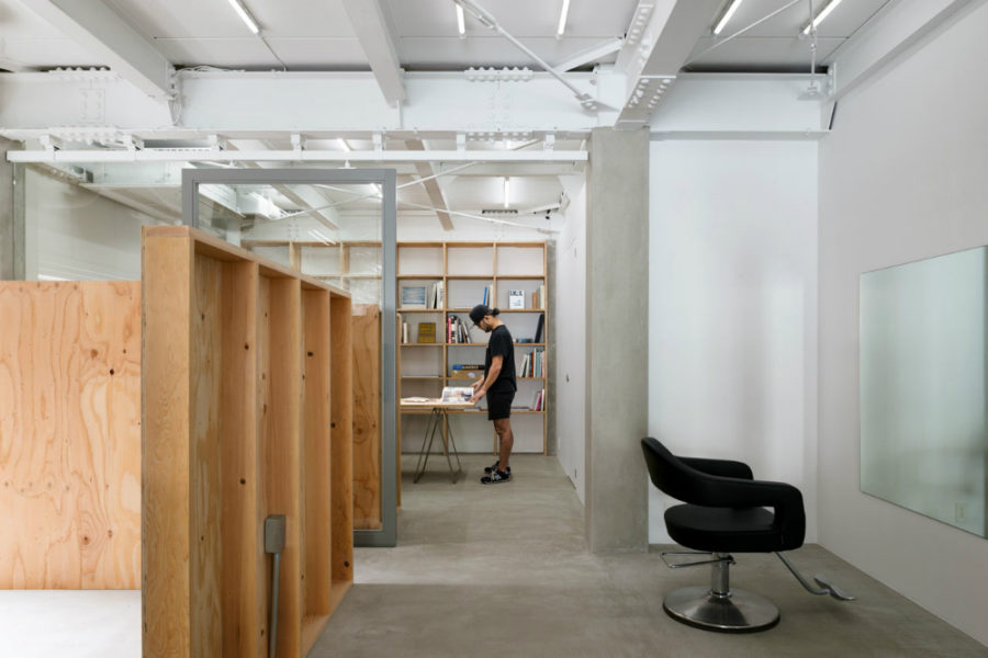 Salon's interior architecture