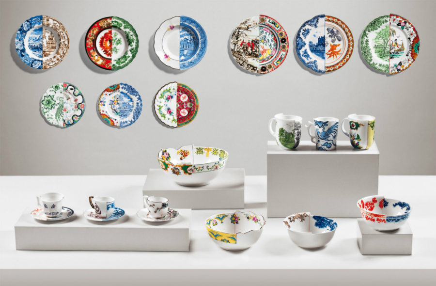 Seletti Hybrid tableware collection